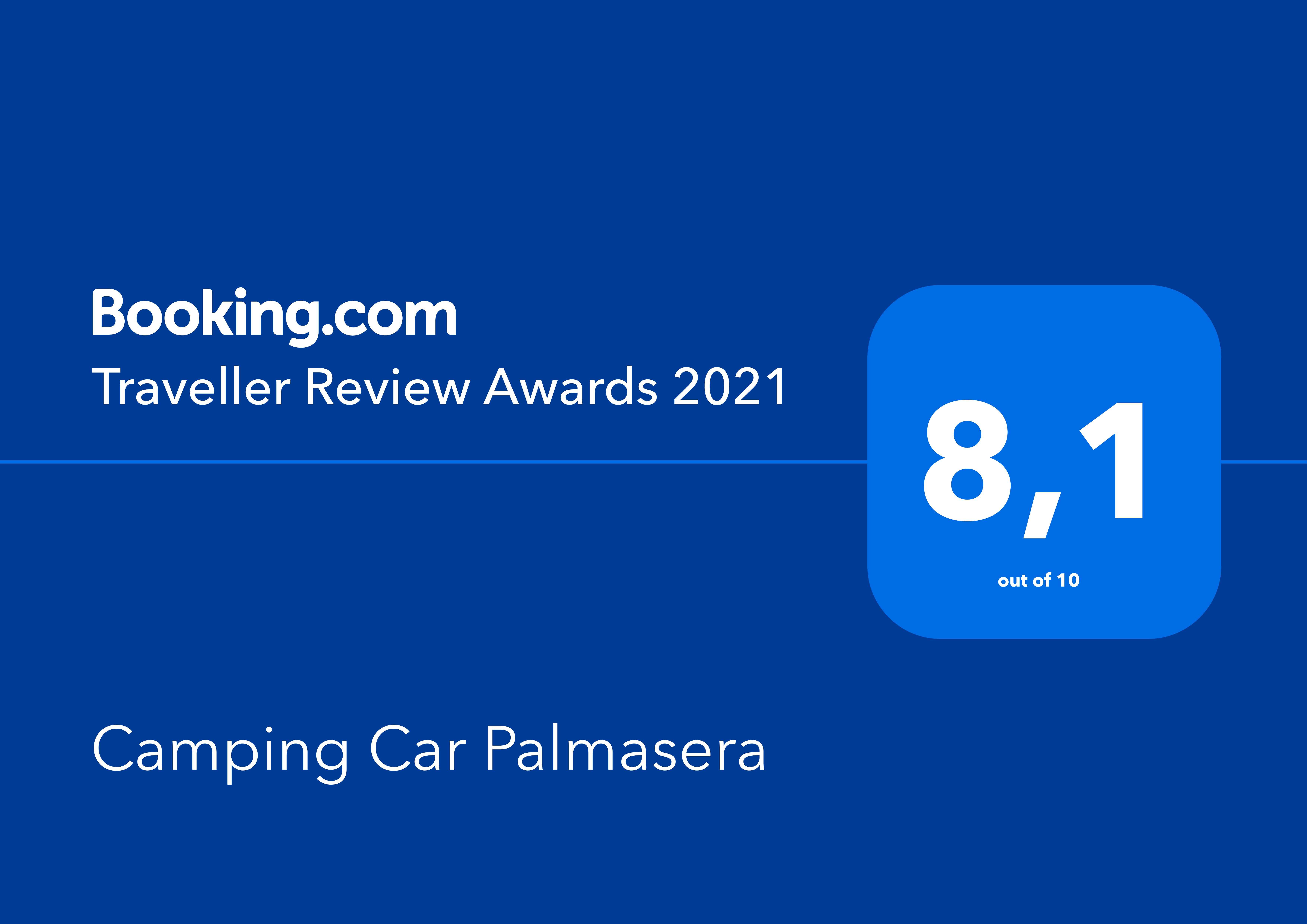 "Booking.com ""Traveller Review Awards 2021"""